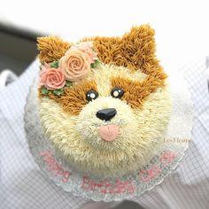 Dog Cakes, Cupcake Cakes, Puppy Cupcakes, Cake Decorating Designs, Puppy Birthday Parties, Cake Craft, Meme Meme, Memes, Themed Cakes