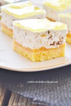 Z miłości do słodkości...: Jabłecznik stracciatella Polish Desserts, Polish Recipes, Polish Food, Delicious Deserts, Sweet Pastries, My Dessert, Mousse Cake, Cake Cookies, Baked Goods