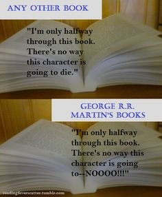 Martin's books vs. all others.