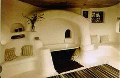 I LOVE this bathroom! Want to build a Cob House? | My Simple Walk