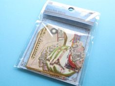 SOLEIL SEAL Sticker Flakes Sack Kamio Japan Scrapbooking *Travel (45066)