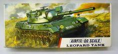 Airfix Leopard Tank