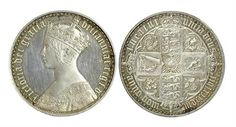 Lot 561: Victoria gothic crown (1847) Estimated £4000-£6000 Sale date 21st August 2013 www.afbrock.co.uk