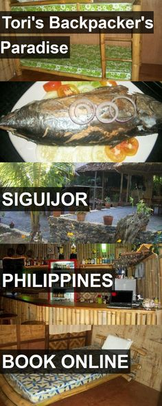 Hotel Tori's Backpacker's Paradise in Siguijor, Philippines. For more information, photos, reviews and best prices please follow the link. #Philippines #Siguijor #travel #vacation #hotel