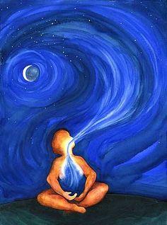 Dejad entrar aire puro a tu alma.  Mas meditación menos preocupación.