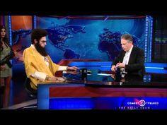 The Daily Show: Admiral General Aladeen - The Dictator #Sacha Baron Cohen #Jon Stewart Monday