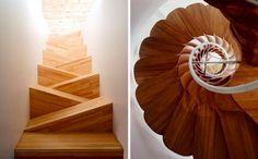 22 Espectaculares Escaleras