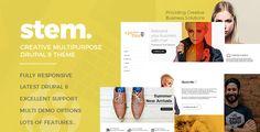 Stem Responsive Multipurpose Drupal 8 Theme