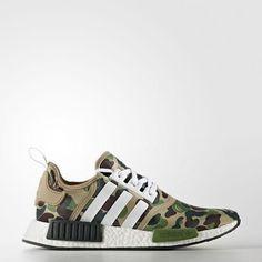 aa545797ad756 Adidas X BAPE NMD R1 Green Camo EXTREMELY RARE