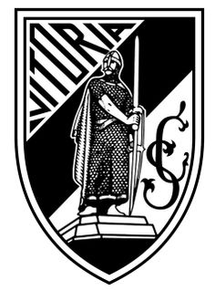 Vitoria SC of Guimaraes, Portugal crest. Soccer Logo, Football Team Logos, World Football, Football Soccer, Sports Logos, Soccer Teams, Europa League, Fifa, Badges