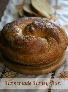 Homemade Honey Bun recipe is a sweet brunch treat. Restlesschipotle.com