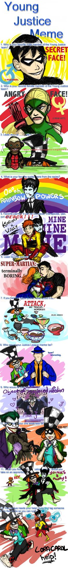 Young Justice Meme by ~Mad-Hatter-LCarol on deviantART