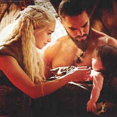 "Daenerys and Drogo, Game of Thrones    ""My sun and stars""    ""Moon of my life"" - so sad they didn't work out."