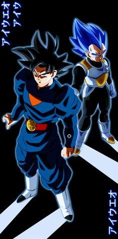 Grand Priest Goku & Vegeta SSB, Dragon Ball Super Dbz, Vegeta Ssj Blue, Goku Y Vegeta, Dragon Ball Z, Dragon Z, Super Vegeta, Gogeta And Vegito, Good Anime Series, Epic Characters