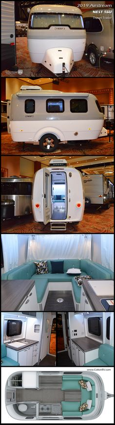 2019 Airstream Nest - - New Travel Trailer RV for sale in Orchard Park, New York. Horse Trailers For Sale, Campers For Sale, Happy Campers, Class A Motorhomes, Motorhomes For Sale, Camping Websites, Camping Stuff, Grand Design Rv