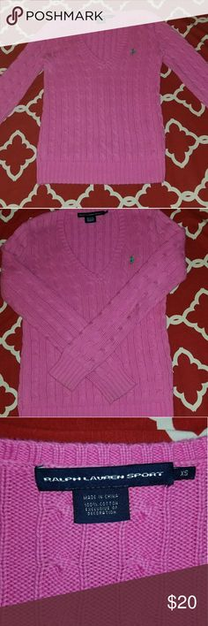 Ralph lauren polo cable sweater Ralph lauren polo cable sweater barely worn great condition Ralph Lauren Sweaters V-Necks