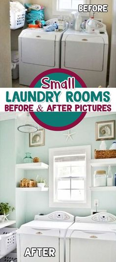 Laundry room maker over ideas - before and after laundry room remodel pictures #laundryroomideas #laundryroomorganization #laundryroomdesign #gettingorganized #diyhomedecor #homedecorideas #diyroomdecor