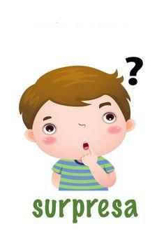 Fichas das emoções para imprimir - Criando com Apego Emotions Cards, Feelings And Emotions, Therapist Office Decor, Nursery School, Yoga For Kids, Spanish Lessons, Cartoon Kids, Elementary Schools, Activities For Kids