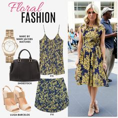 Compre moda com conteúdo, www.oqvestir.com.br #Fashion #FloralFashion #FYI #Shoestock #LuizaBarcelos#MarcbyMarcjacobs #Print #Pretty #Summer #Look
