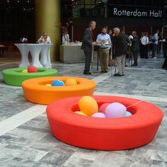 More Panton: Loop rummøbel