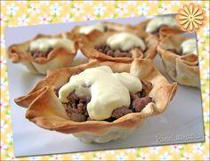 PANELATERAPIA - Blog de Culinária, Gastronomia e Receitas: Cestinha de Pastel