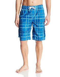 299298b3d3 Men's Big Miles Extended-Size Swim Trunk Quick Dry, Patterned Shorts, Swim  Trunks