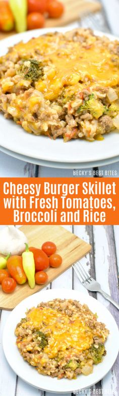 Cheesy Burger Skille