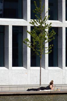 Bestseller office complex | Port of Aarhus, Denmark | C.F. Møller Landscape #landscape #architecture
