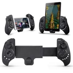 Bluetooth 3.0 Game Controller for Smartphone and Tablet by Ipega. This cool Bluetooth game controlelr can be used for your smartphone and tablet, you can connect your smartphoen Bluetooth without any drives, it's safe and stable.  http://www.zocko.com/z/JJHZ5
