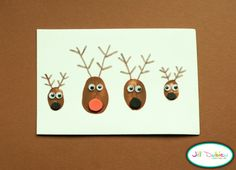 From All Free Kids Crafts - Kids Christmas crafts Christmas Countdown, Christmas Projects, Simple Christmas, Winter Christmas, Holiday Crafts, Holiday Fun, Christmas Holidays, Reindeer Christmas, Reindeer Craft