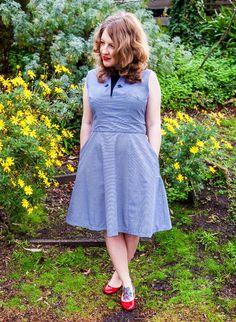 Odette Dress PDF (downloadable) Sewing Pattern   Bluegingerdoll - Stitch 56  - 2