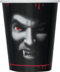 8 vasos vampiro Halloween Disponible en http://www.vegaoo.es/8-vasos-vampiro-halloween.html?type=product