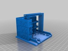Epic/Battletech Scale 'Mech Repair Bay by KJdidit - Thingiverse