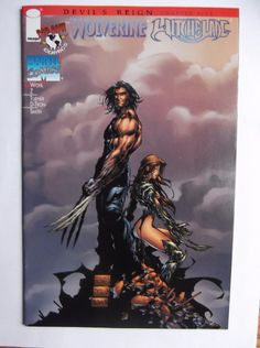 Wolverine Witchblade Devil's Reign Chapter five Marvel Image Top cow Comics