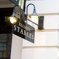 Elliott Stables, Auckland - across the road from Smith and Caughey's, where I used to work :)