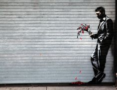 Waiting in vain – By Banksy in Hell's Kitchen, New York, USA