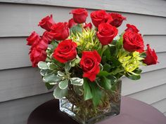 Rose Centerpiece - Aspen Branch Original - www.aspenbranch.com