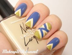 Makeup Withdrawal: Another Taped Manicure