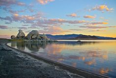 The beautiful Pyramid Lake
