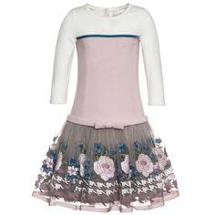 Dress COCKTAIL (NERO-ROSA+PIED DE POULE)