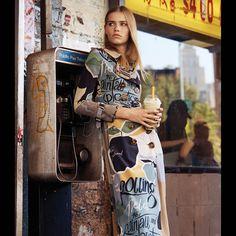【スライドショー】粋なプリント柄のストリートファッション~WSJマガジンから