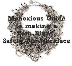 DIY Fashion Tutorial: Tom Binns Safety Pin Necklace