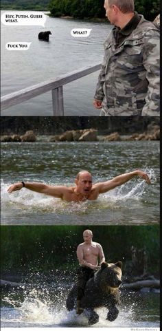 Putin Has No Chill