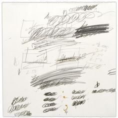 Cy Twombly, 'Letter of resignation' (1967)