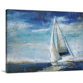 Found it at Joss & Main - Sail Away Canvas Print