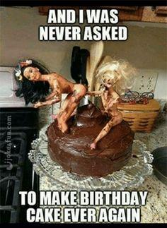 Nasty BirthDay Cake Prank