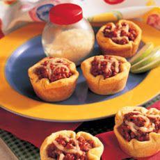Pizza Cup Snacks II Recipe