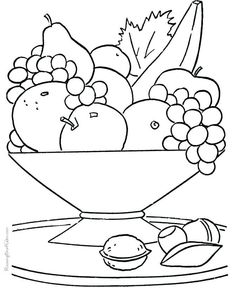 21 Best Fruit Coloring Sheet Images In 2019