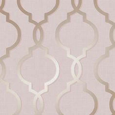 This stylish Laticia Geometric Trellis Wallpaper in Rose Gold and Pink features a classic geometric fretwork design with a modern twist of glitter and metallic elements. Geometric Glitter Wallpaper, Geometric Trellis Wallpaper, Blush Pink Wallpaper, Paper Wallpaper, Textured Wallpaper, Iphone Wallpaper, Pink Wallpaper Living Room, Pink Wallpaper Bedroom, Charcoal Wallpaper