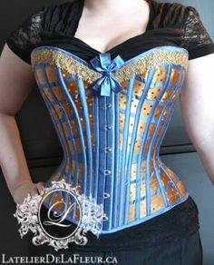 Ravenclaw lattice corset L'Atelier de LaFleur